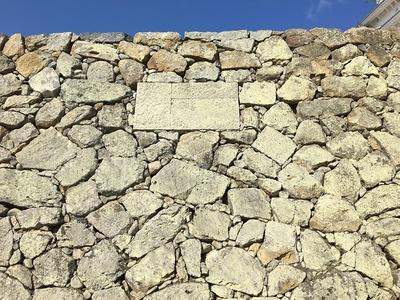 修復した石垣