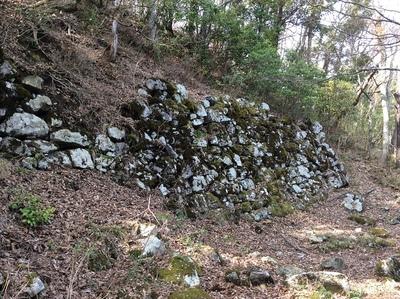 山王丸東側石垣