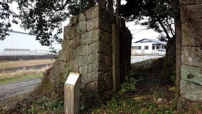 塚崎城 石門②
