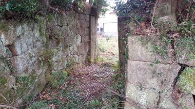 塚崎城 石門④