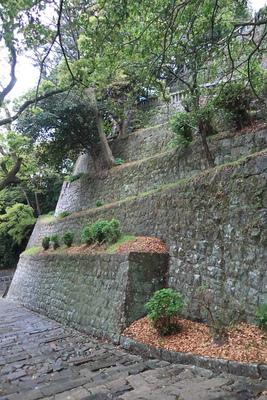 石段の石垣