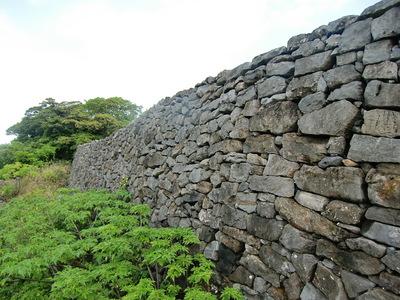 志慶真門の石垣