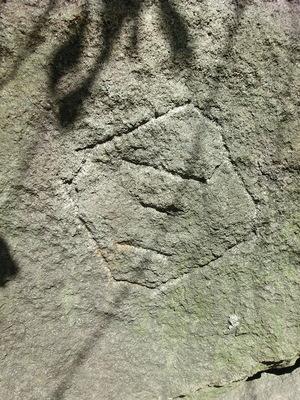 外濠石垣刻印石(日比谷セントラルビル)