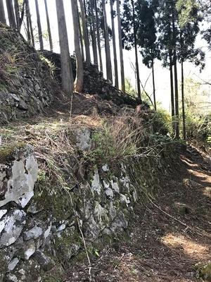 ホウズキ段の石垣