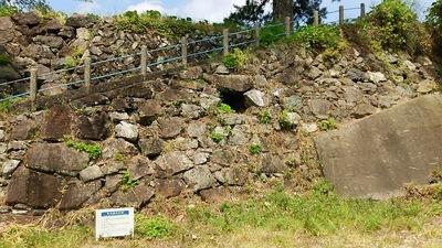 本丸南側の石垣
