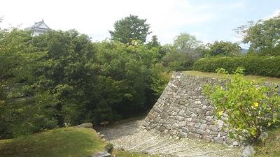 城代屋敷跡の石垣