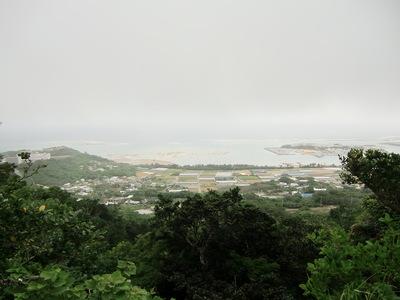 主郭からの太平洋