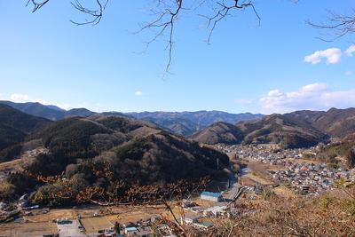 腰越城本郭からの眺望