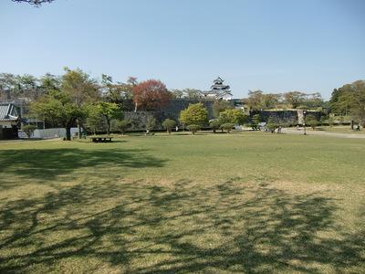 二ノ丸広場