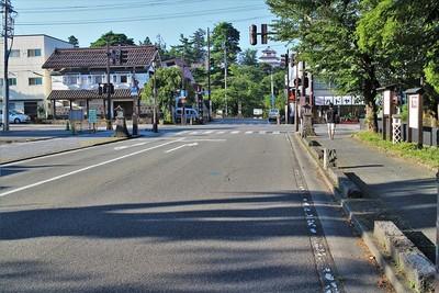 現在の甲賀町通り