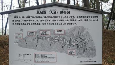 大城の縄張り図