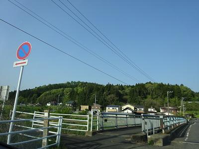 浅川城遠景