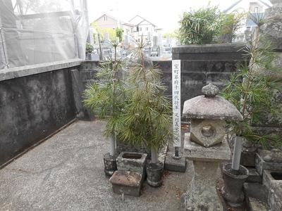 室町幕府14代将軍 足利義栄の墓