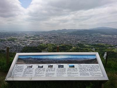 本丸跡からの眺望