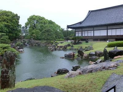 二の丸庭園と黒書院