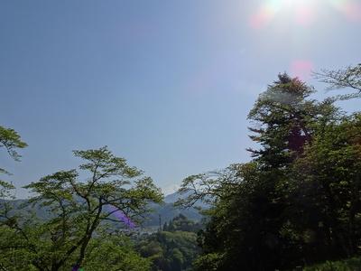 本丸から富士山