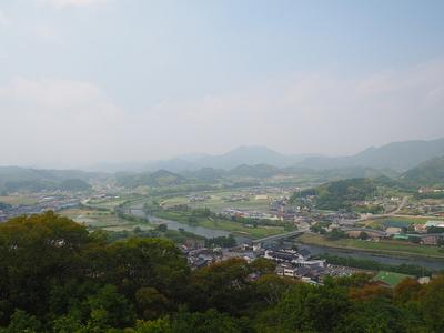 本郭からの眺望