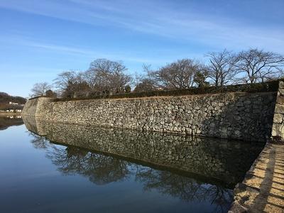 武蔵野御殿跡の石垣