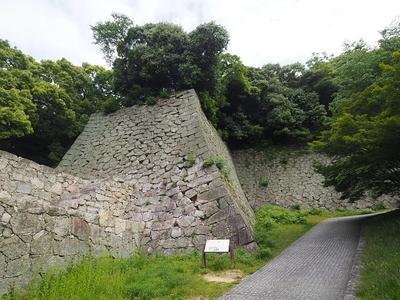 槻門の石垣