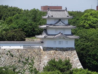 巽櫓(商工会議所屋上から)