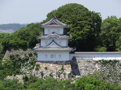 坤櫓(商工会議所屋上から)