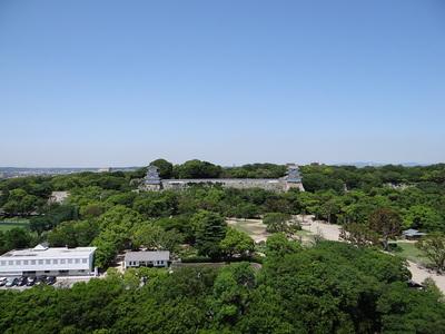 明石城遠景