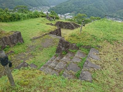 本丸虎口(北側)