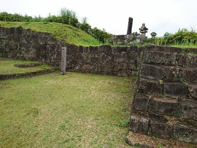 本丸東門跡