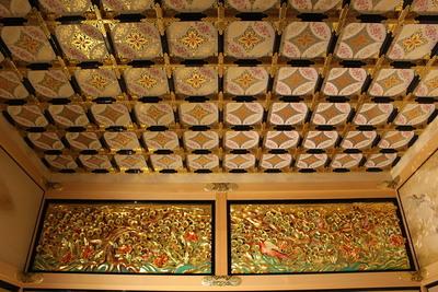 上洛殿三之間の格天井