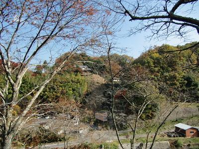 陣屋跡から柳生城