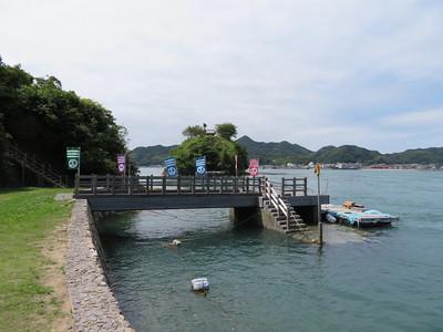 能島の桟橋