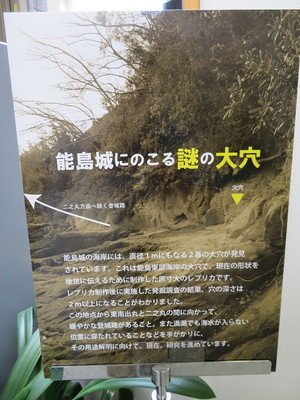 能島城にのこる謎の大穴