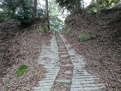 二の丸への登城路