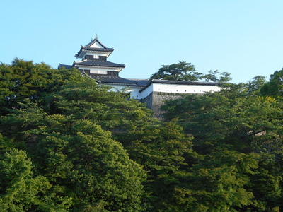 北側からの三重櫓