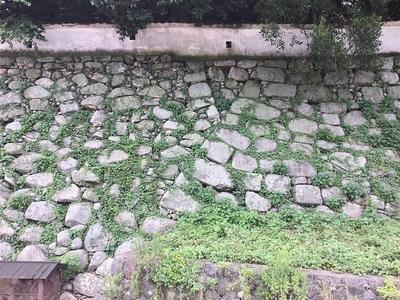 石垣の切れ目