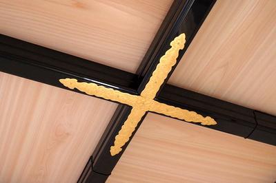 格天井の金具