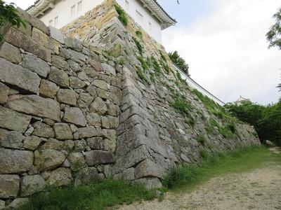 坤櫓台石垣