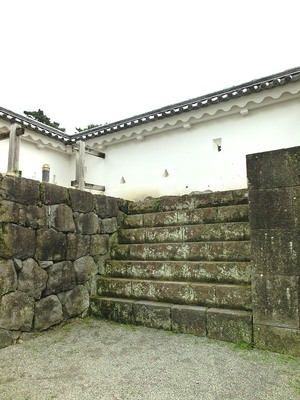 銅門桝形雁木