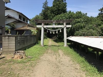 鷲神社への入口