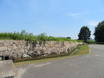 三之丸西側石垣