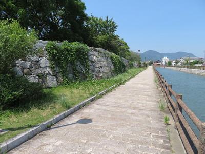 二之丸東側石垣