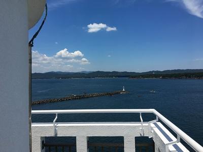 安乗埼灯台からの眺め