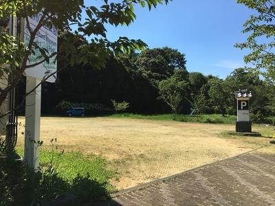 愛洲の館駐車場