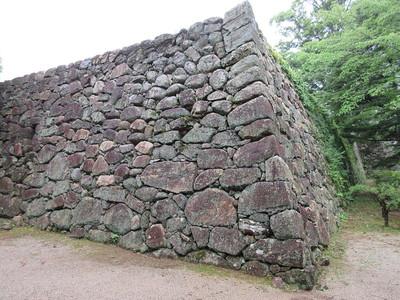 本丸上段石垣