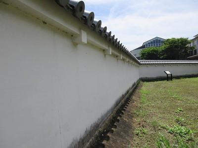 二ノ丸北帯曲輪土塀