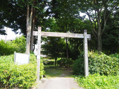 模擬冠木門