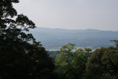 天主(佐志能神社)からの眺望