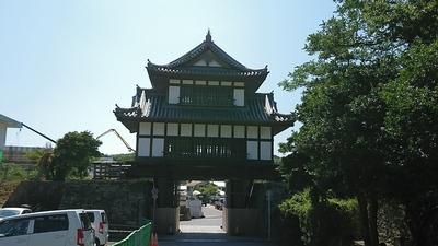 金石城大手櫓門3