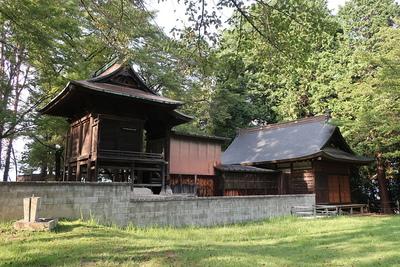 本丸の藤武神社