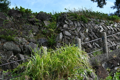 本丸東側石垣